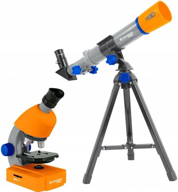 mikroskop i teleskop na prezent