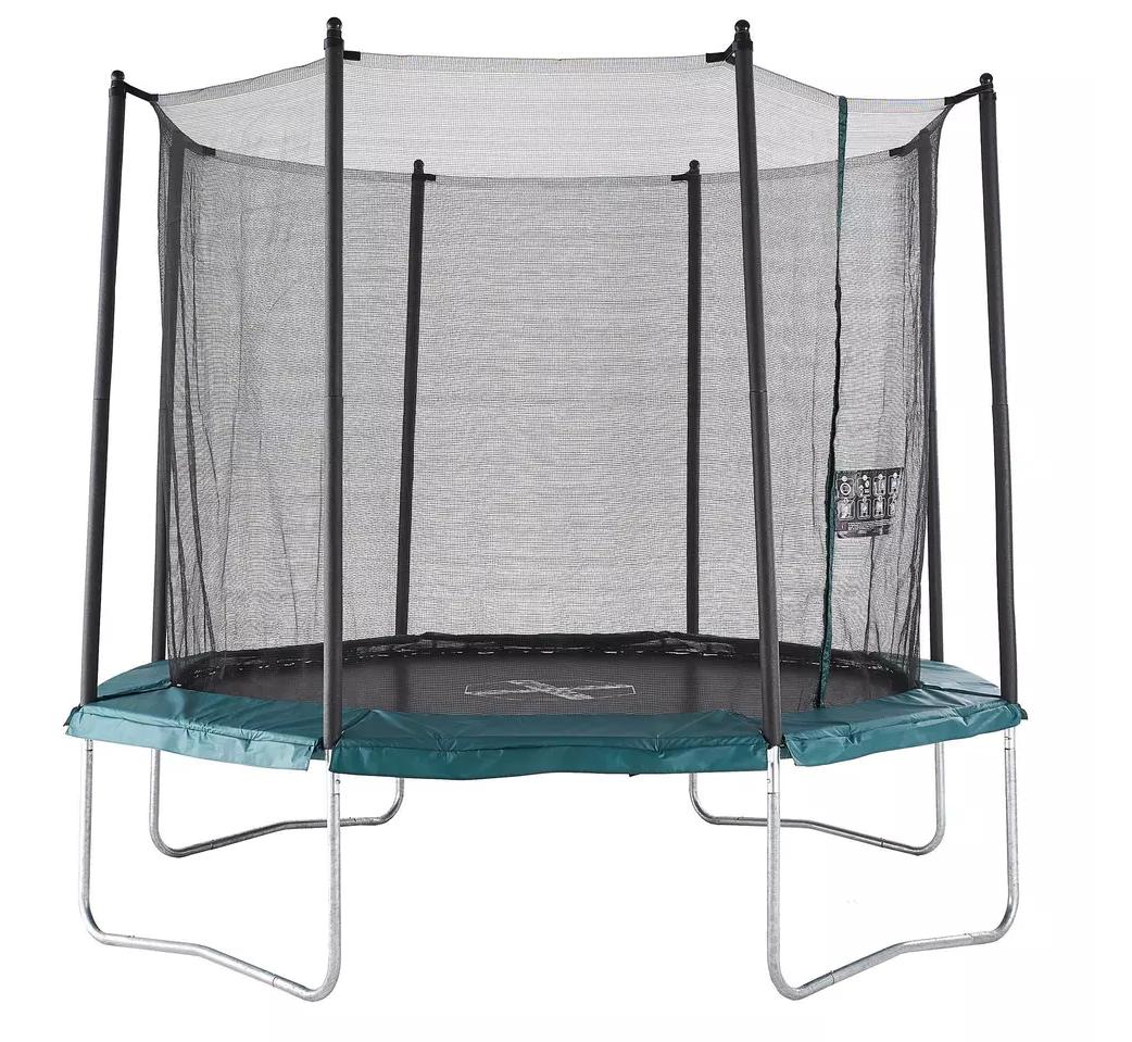 trampolina ogrodowa z decathlonu