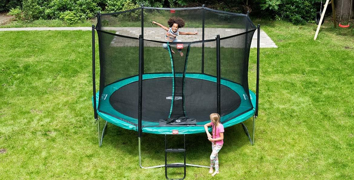 trampolina ogrodowa berg
