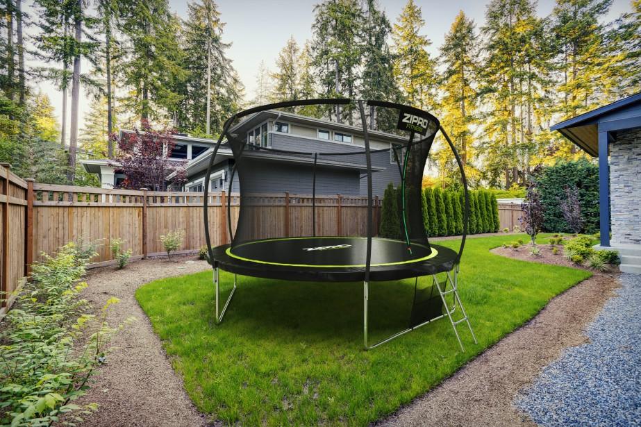 trampolina ogrodowa zipro